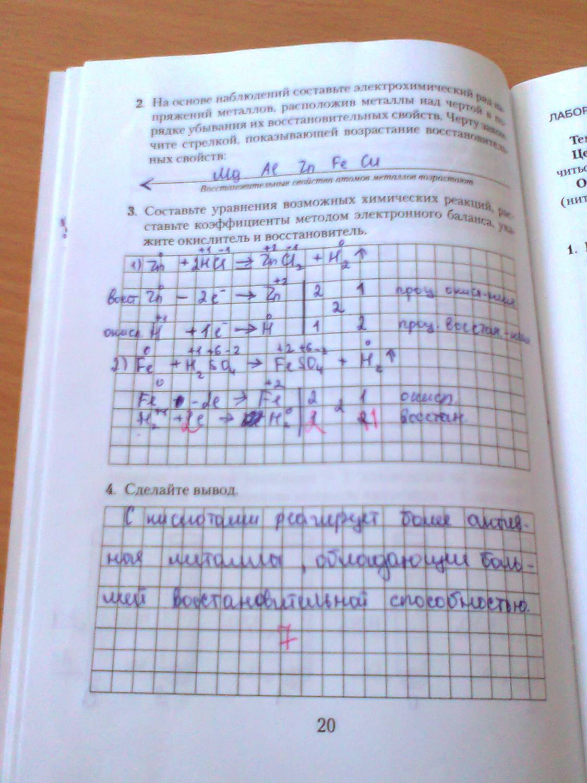 Решебник по лабораторной тетради по физике 10 класс